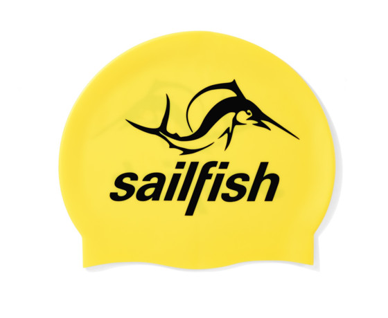 sailfish Czepek Silikonowy yellow