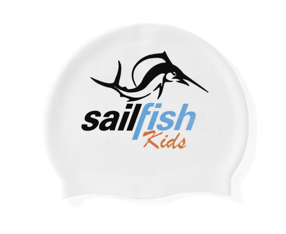 sailfish Kids Czepek Silikonowy white