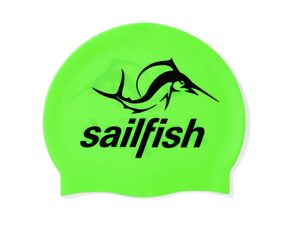 sailfish Czepek Silikonowy neon green