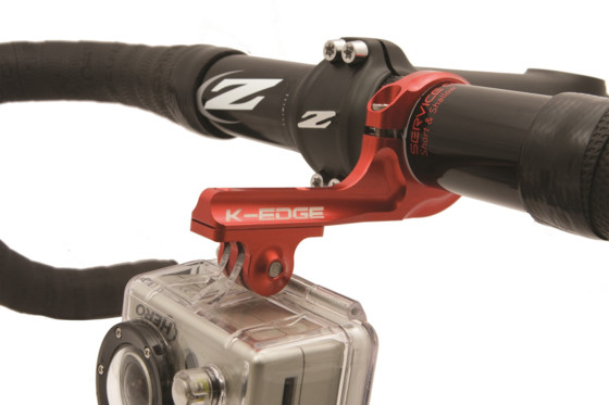 K-EDGE Uchwyt GO BIG Pro Handlebar Mount red