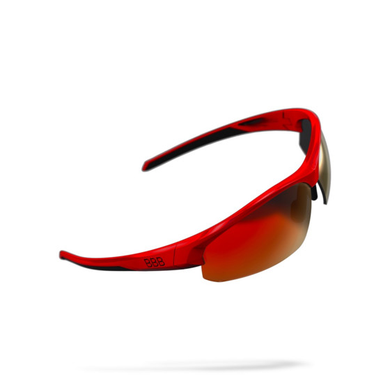 BSG-58 BBB Cycling Okulary Rowerowe Impress glossy red