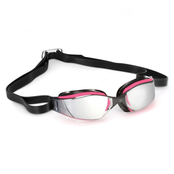 Phelps Okulary Pływackie XCeed Lady Mirror pink/black