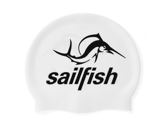 sailfish Czepek Silikonowy white