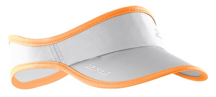 2XU Daszek Biegowy Run Visor orange/grey
