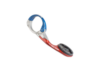 K-Edge Uchwyt Garmin Race Mount 31.8 mm blue/red