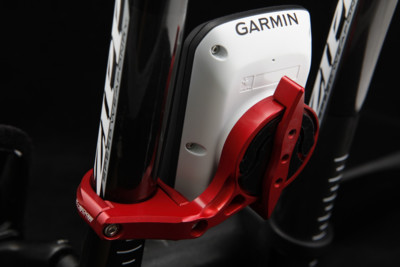 K-Edge Uchwyt TT Mount for Garmin red