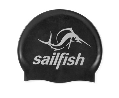sailfish Czepek Silikonowy black